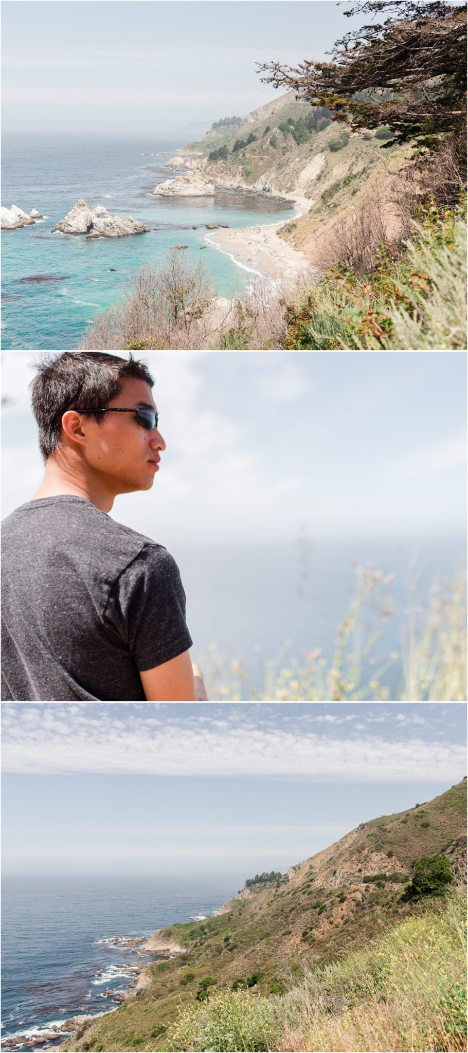 California Highway 1 Lookout Points