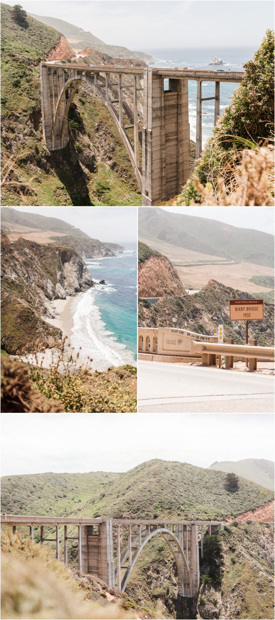 The Bixby Bridge on the road to Big Sur