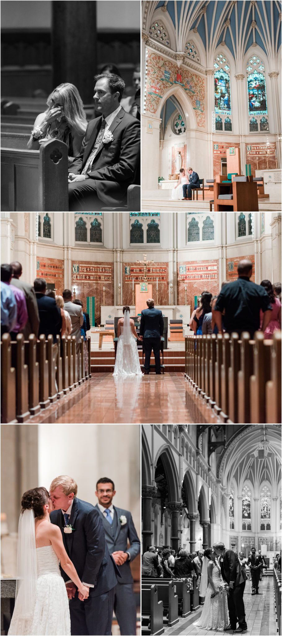 Syracuse NY Wedding at the Cathedral of the Immaculate Conception