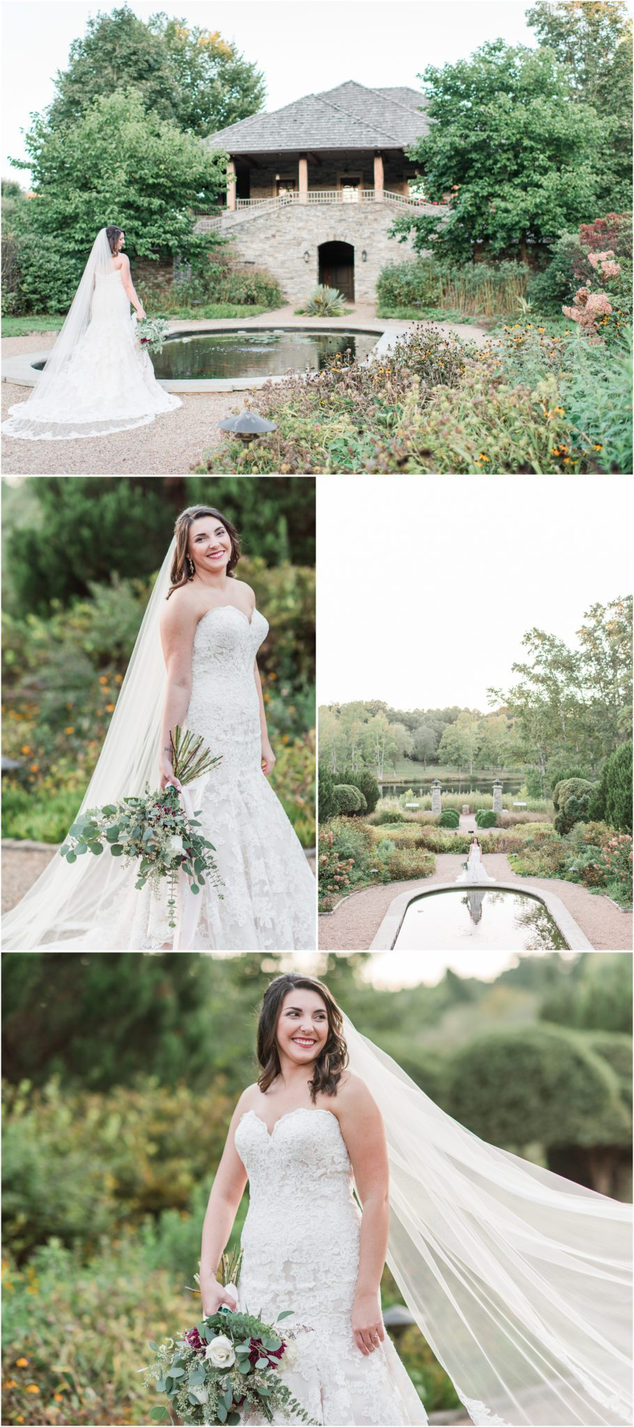 Furman Bridal Session Greenville South Carolina