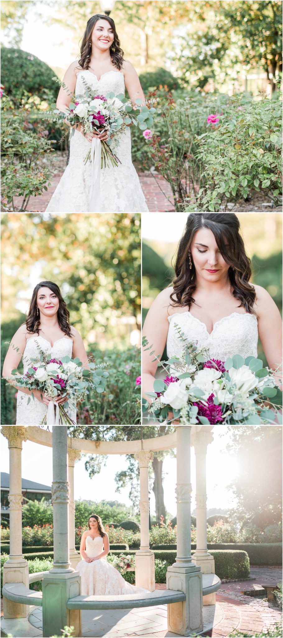 Furman Bridal Session Greenville