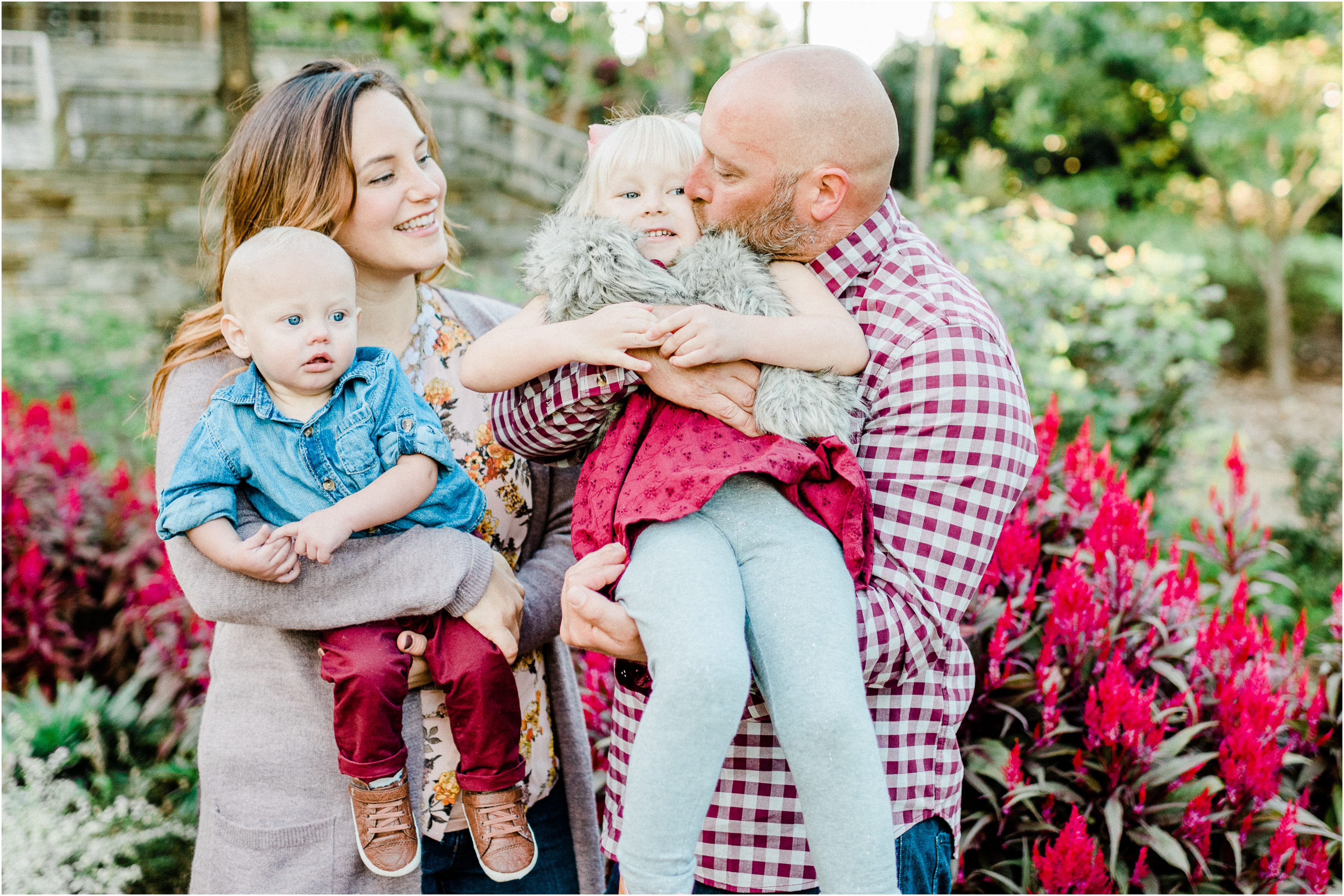 Fall Furman Family session in Greenville, SC