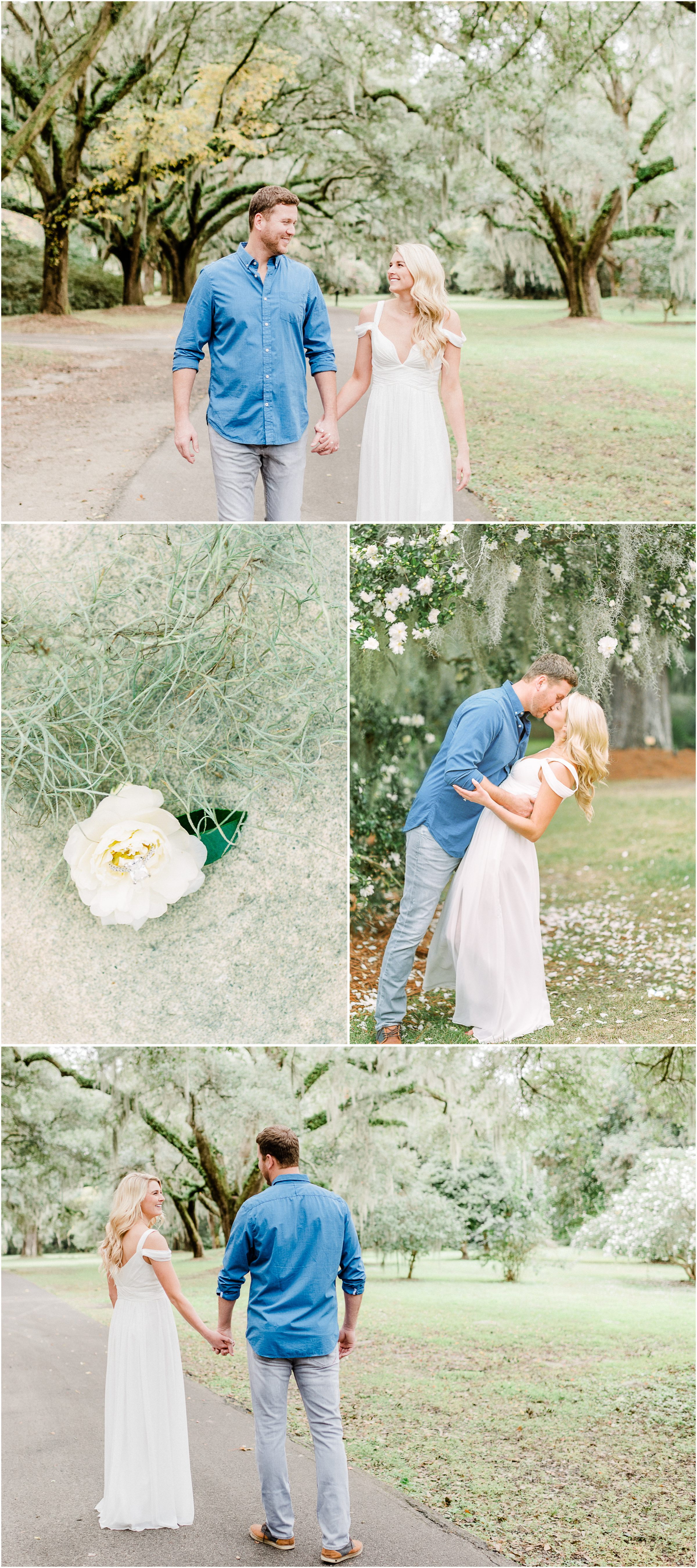 Legare Waring House engagement in Charleston