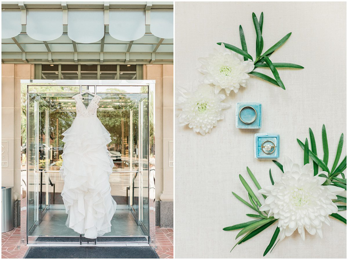 AC Hotel Wedding Details in Spartanburg, SC