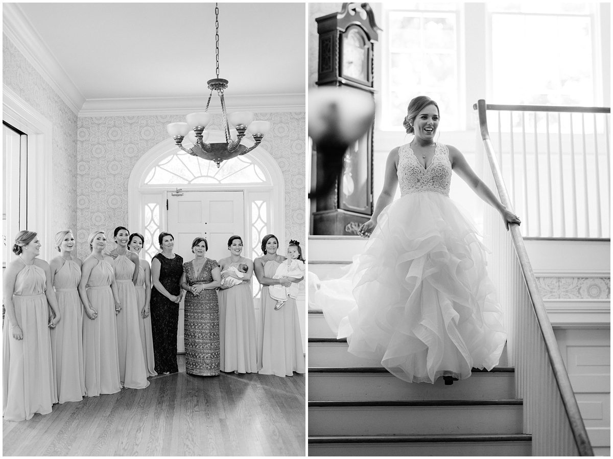 Duncan Estate Wedding Dress Reveal with Bridesmaids