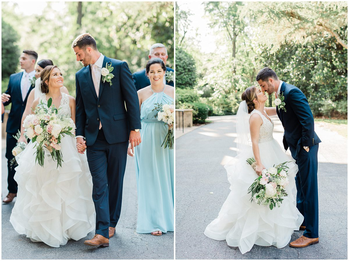 Duncan Estate Bridal Party Photos in Spartanburg, SC