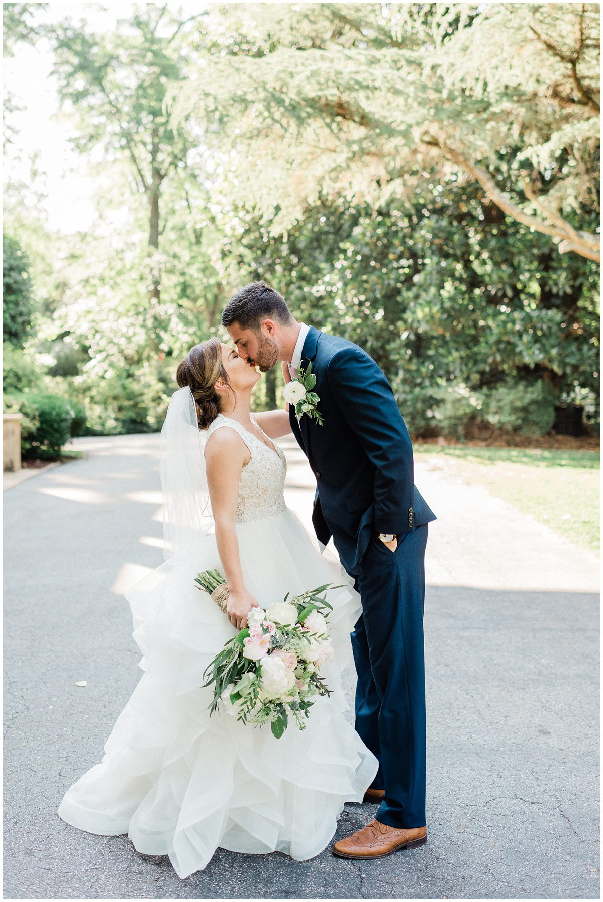 Spartanburg Wedding Bride and Groom Photos