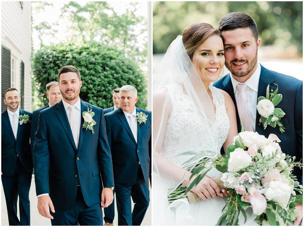 Spartanburg South Carolina wedding at Duncan Estate