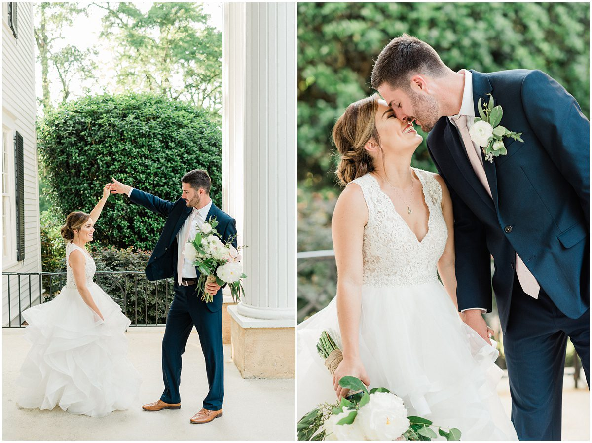 Duncan Estate Spartanburg SC Wedding
