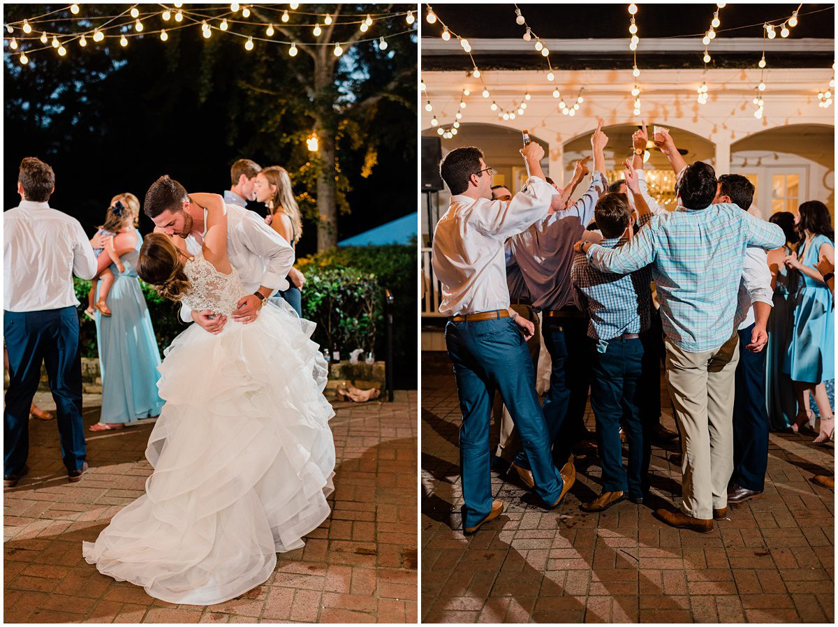 Duncan Estate Outdoor Wedding Reception, Spartanburg