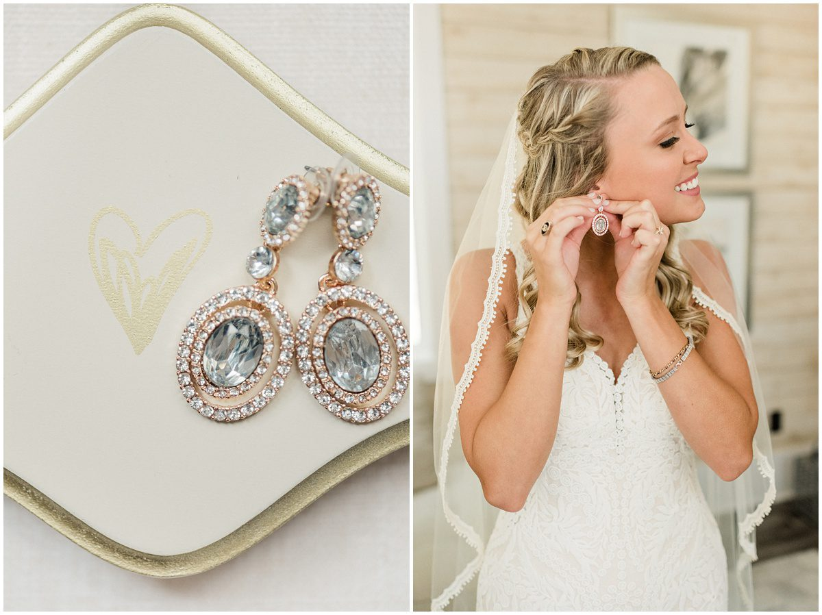 Bride Getting Ready Photos at South Wind Ranch Bridal Suite