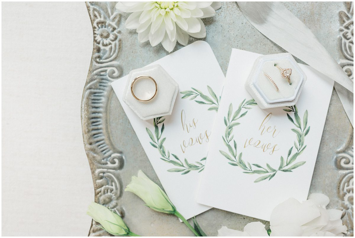 His & Hers Vow Cards