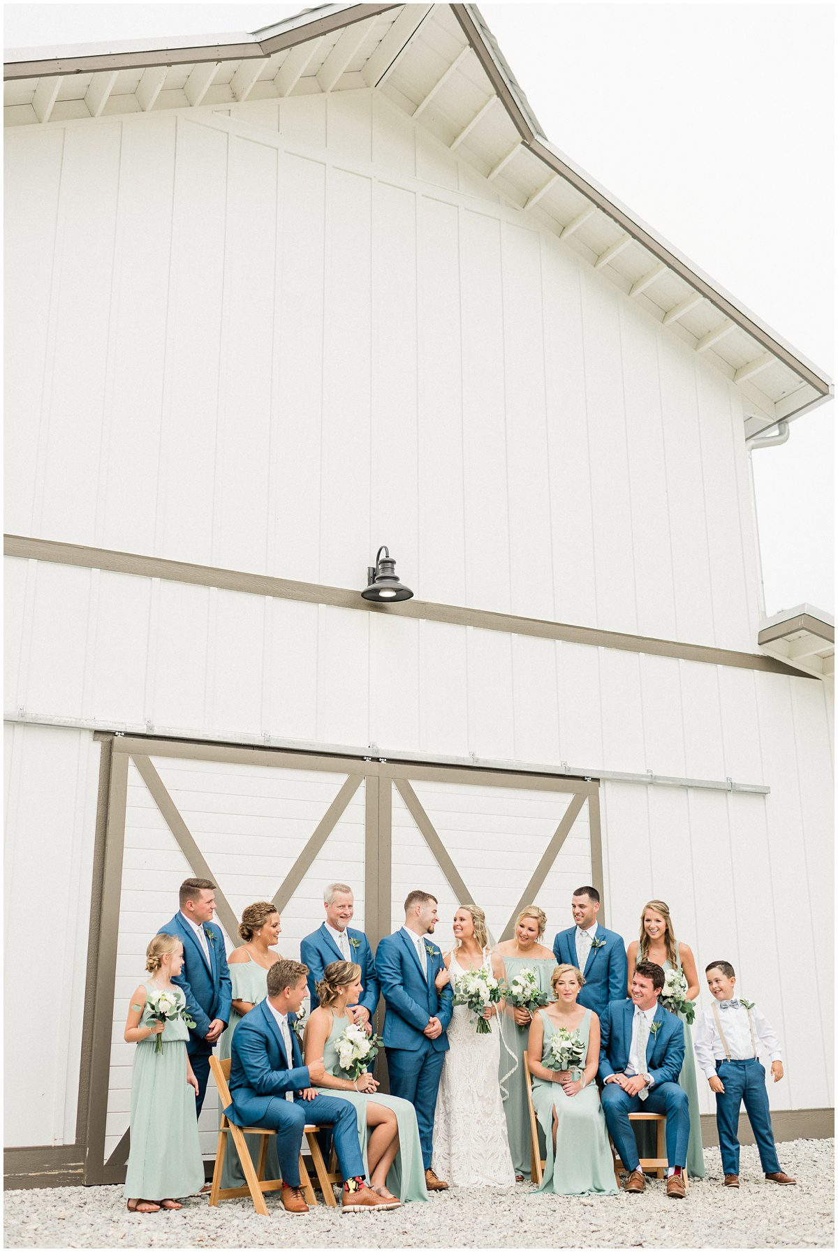 South Wind Ranch barn | Bridal Party Portraits