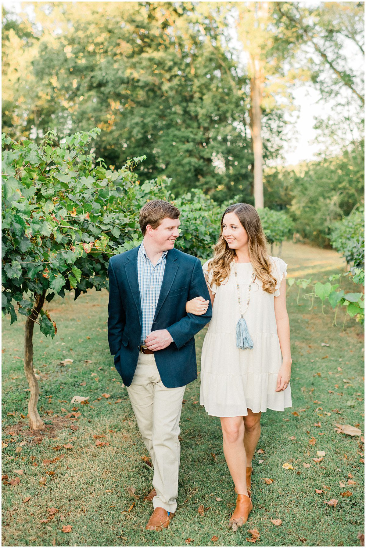 City Scape Winery Engagement