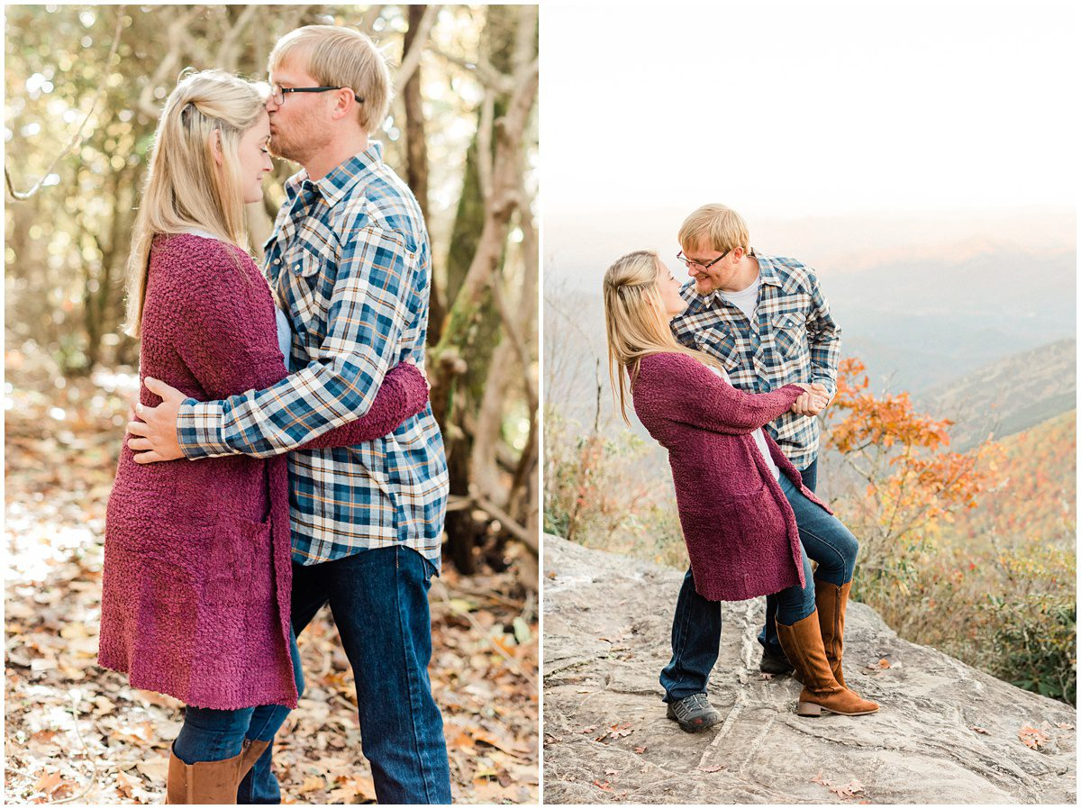 Fall Pickens Nose Engagement Shoot