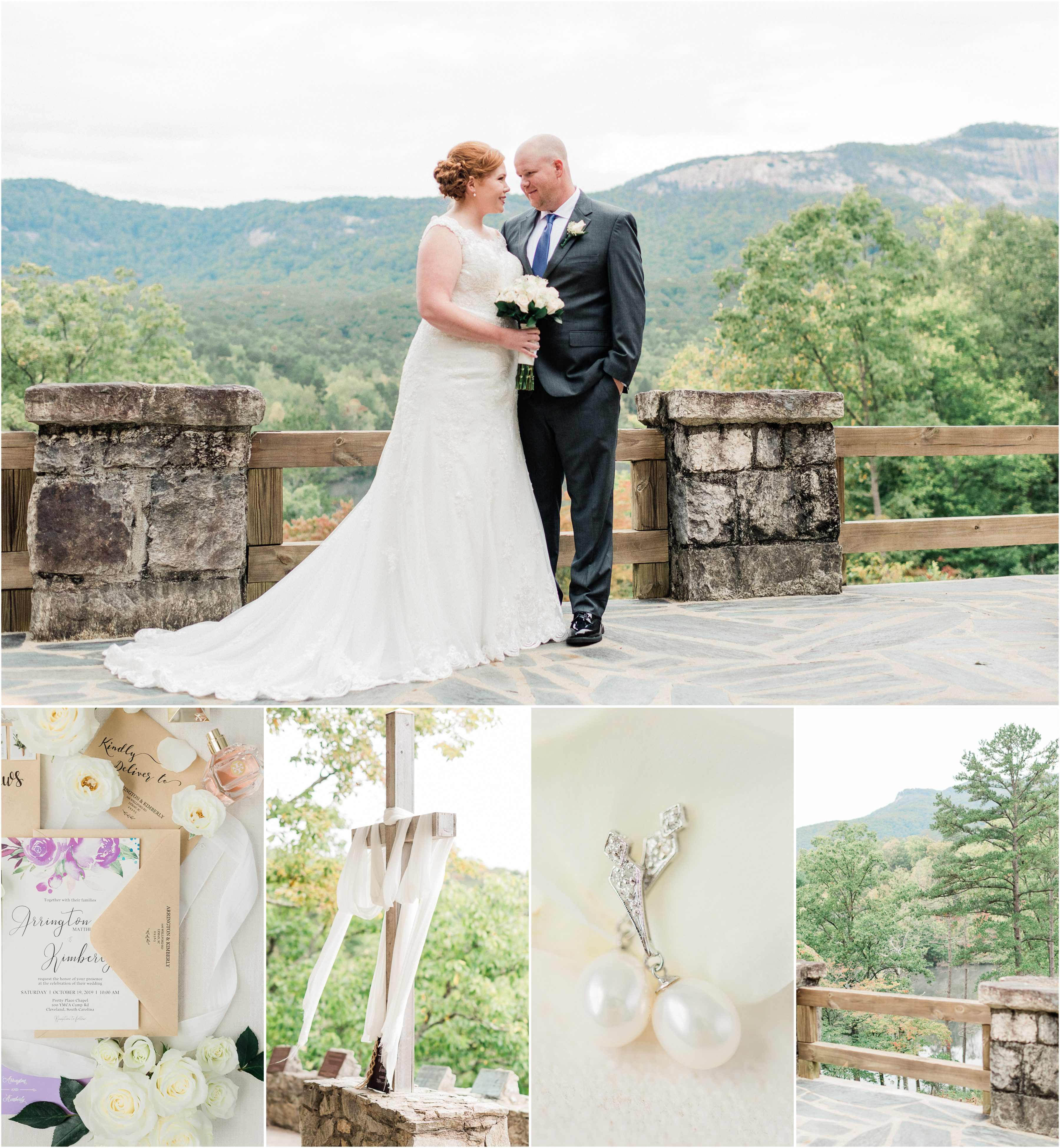 Table Rock Lodge Wedding in the mountains