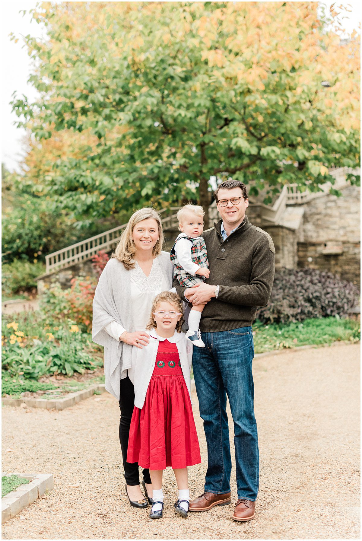 Christmas Inspired Family Photos in Greenville, SC