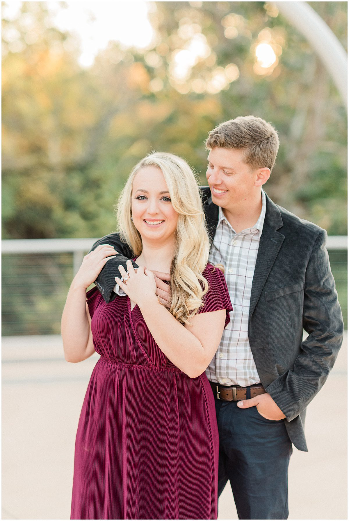 Fine art Greenville engagement photography