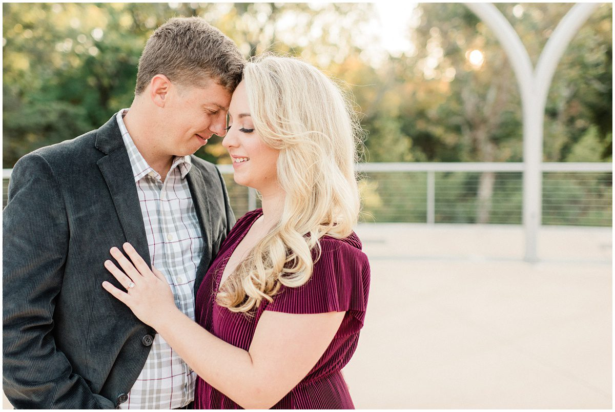 Downtown Greenville Engagement Session