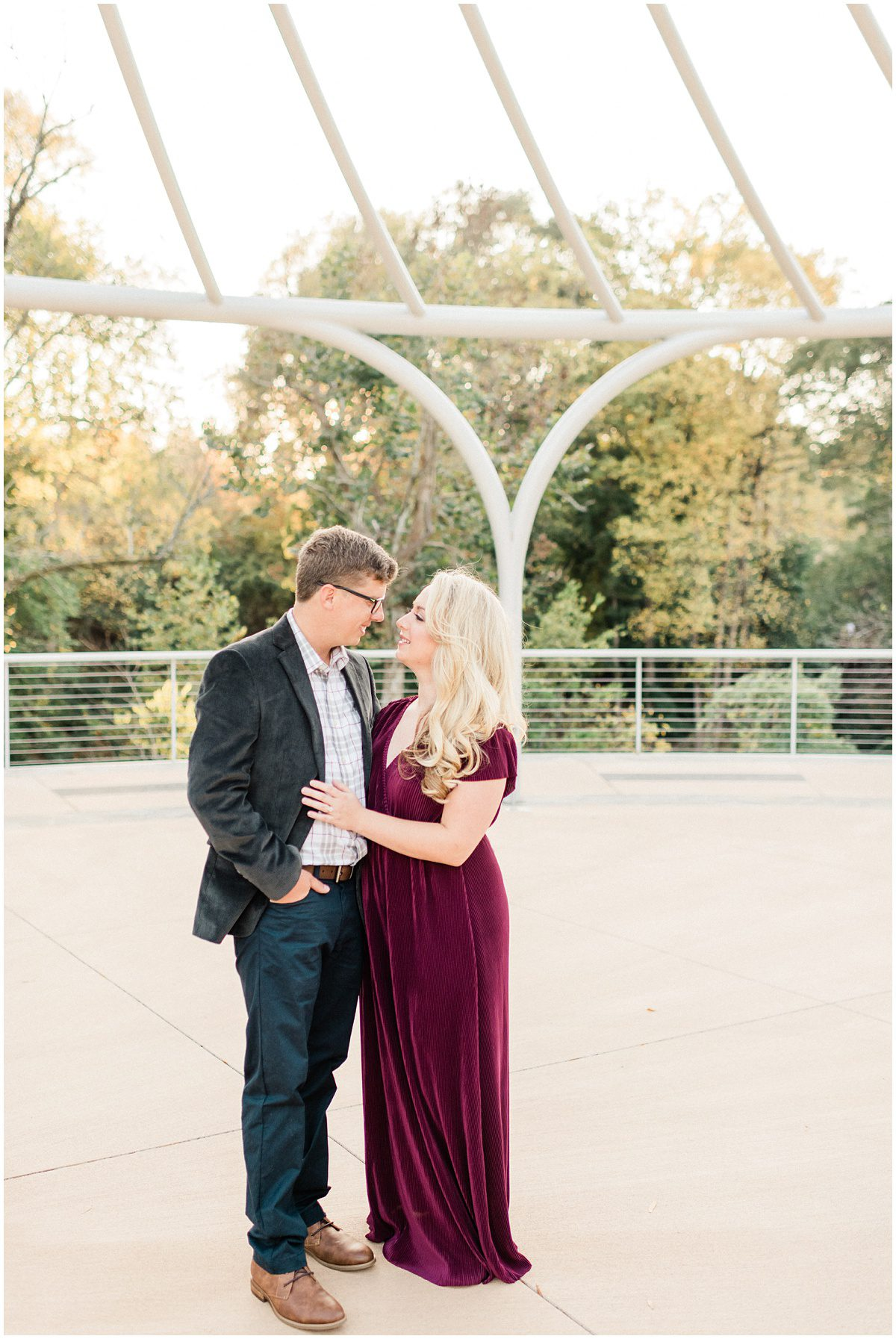 Cancer Survivors Park Engagement Session in Greenville, SC