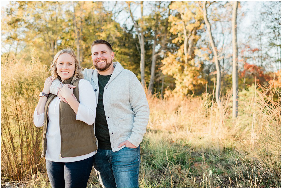 Fall portraits in Greer, SC