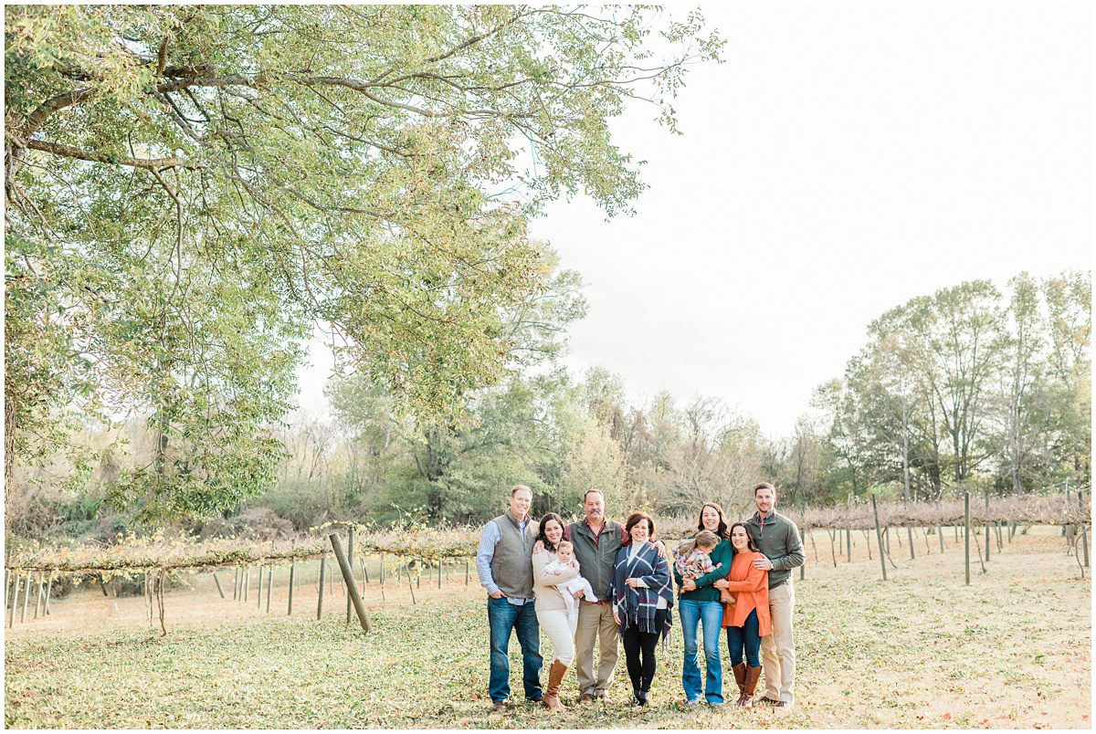 City Scape Winery Family Session