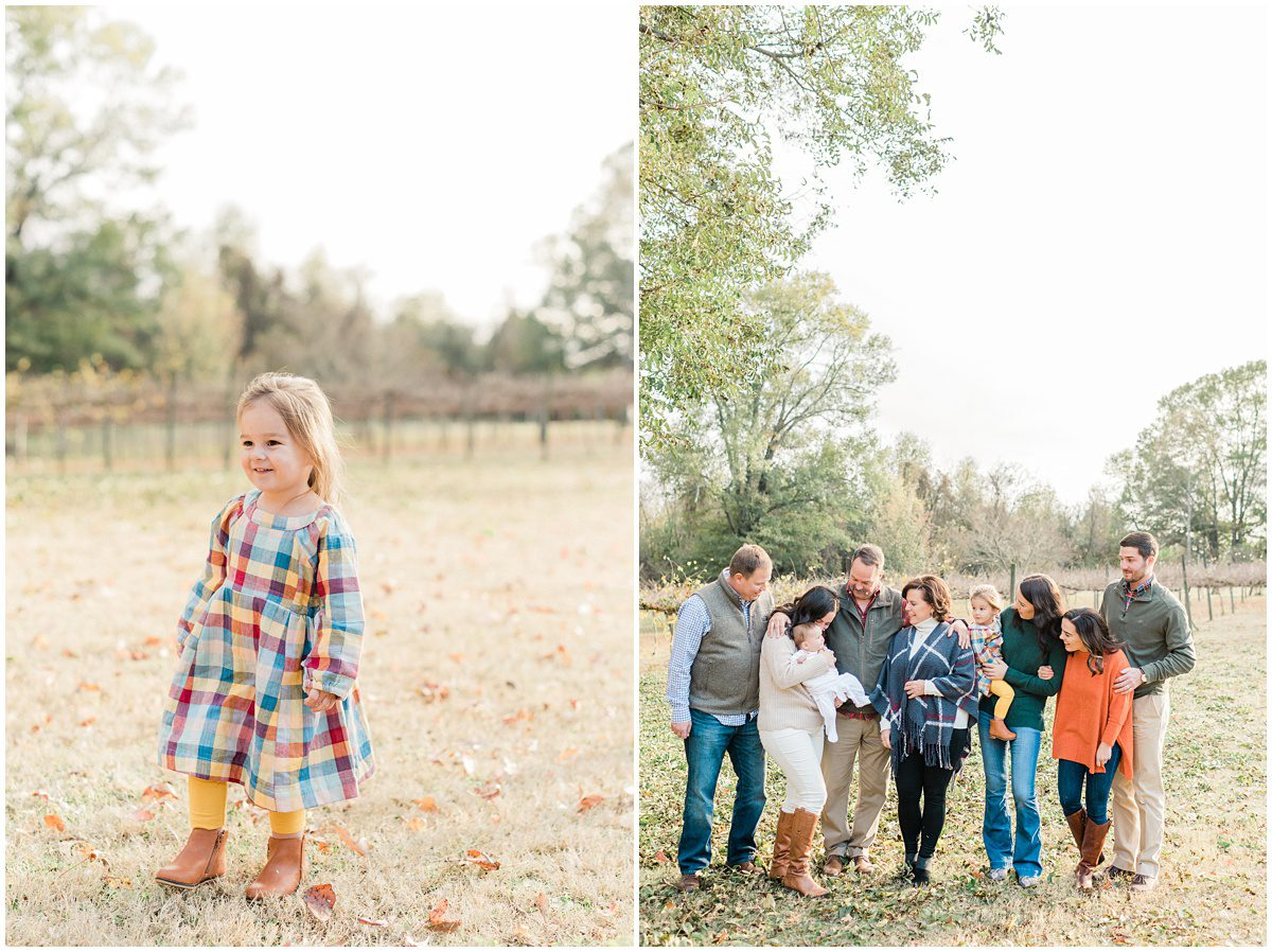 Fall City Scape Winery Family Session