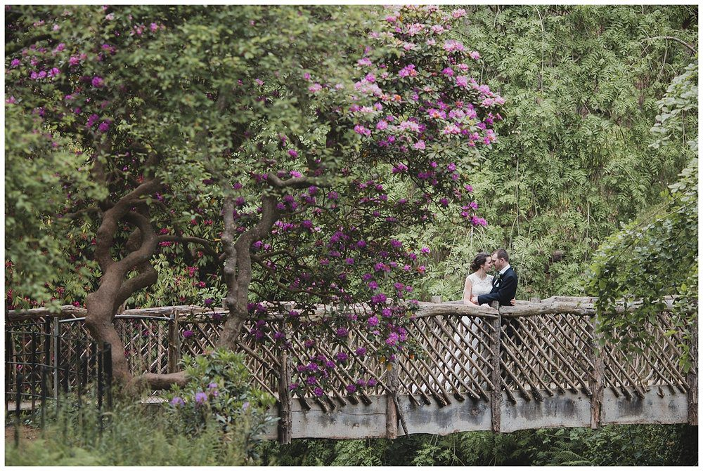 Amazing gardens at National Trust property Quarry Bank Mill. A Cheshire wedding venue.