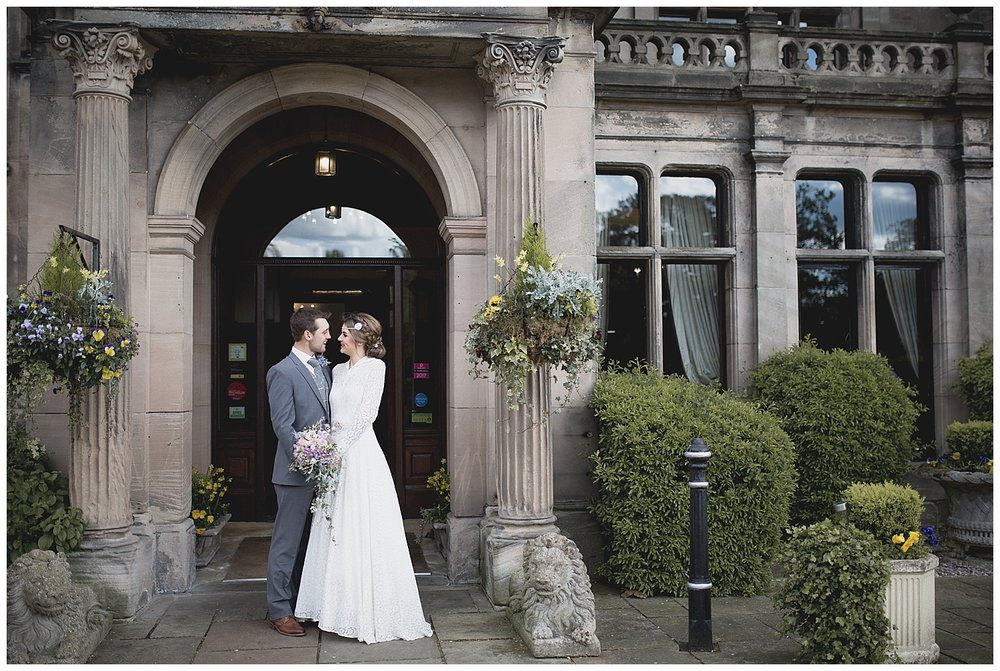 Rookery Hall Hotel is a wonderful country hotel Cheshire wedding venue.