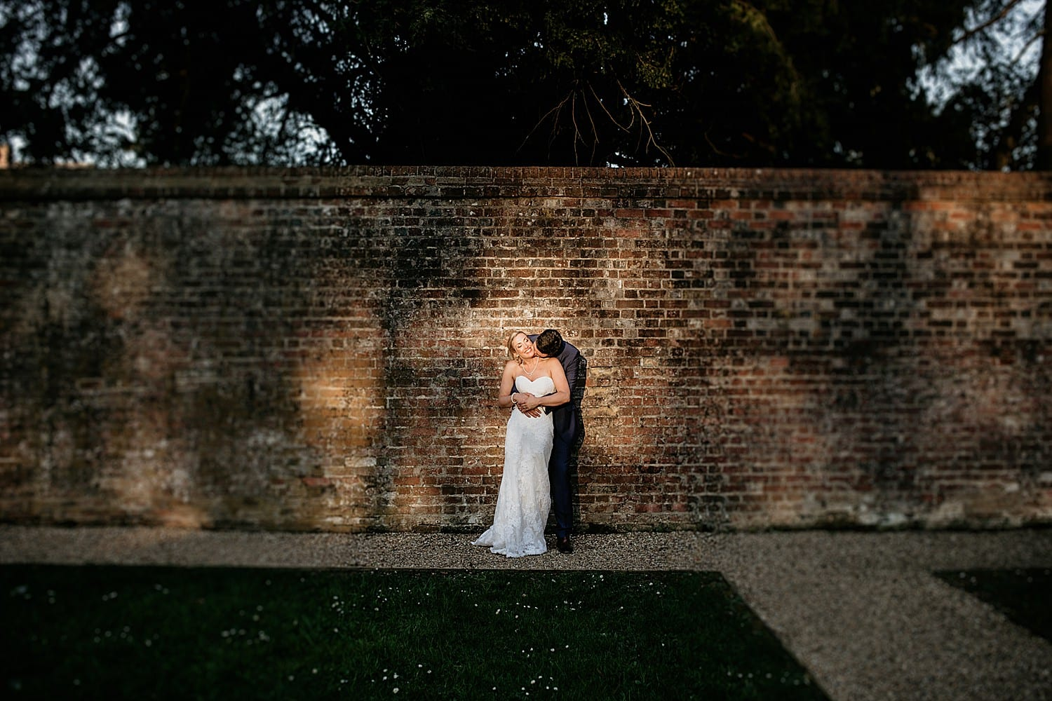 Wotton House wedding portraits by Surrey wedding photographer