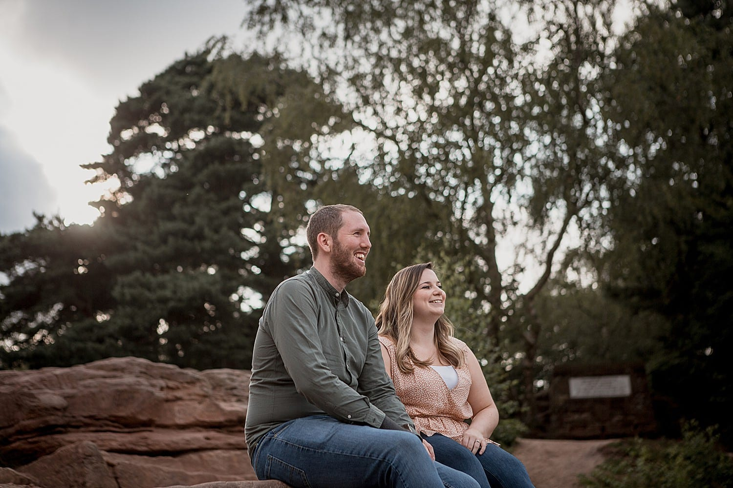 engagement shoot in cheshire
