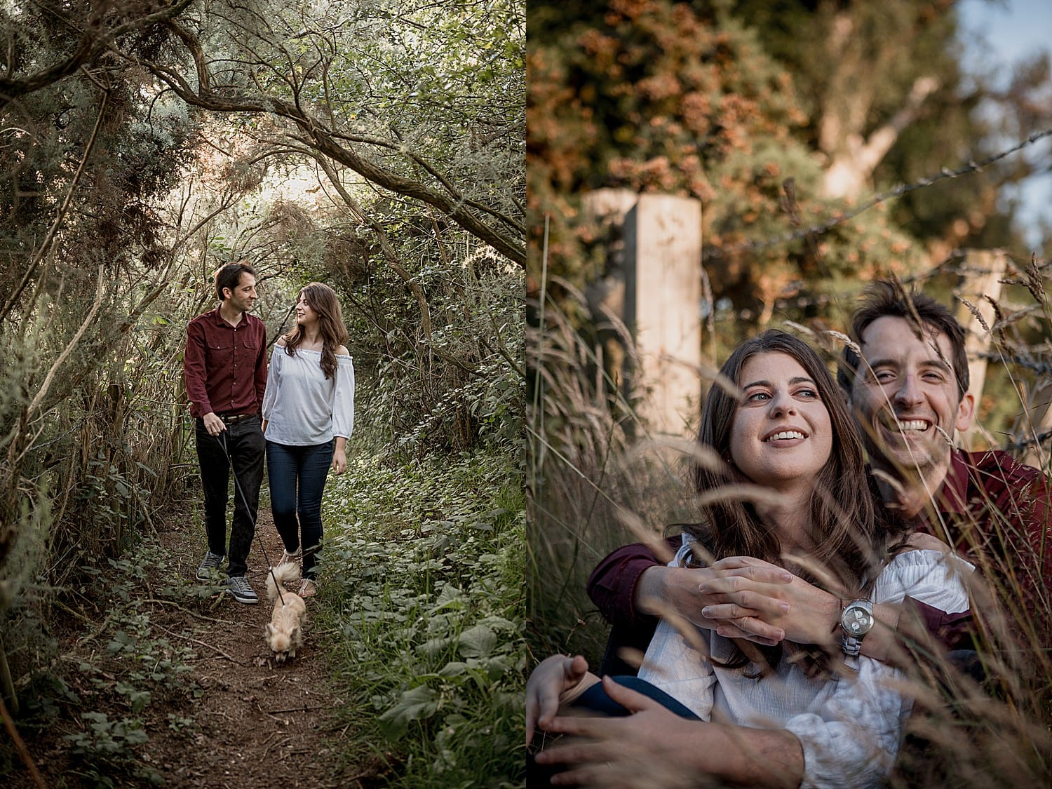 Cuddington engagement photography