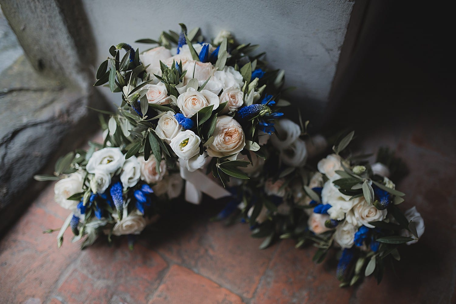 Flowers for Tuscany wedding