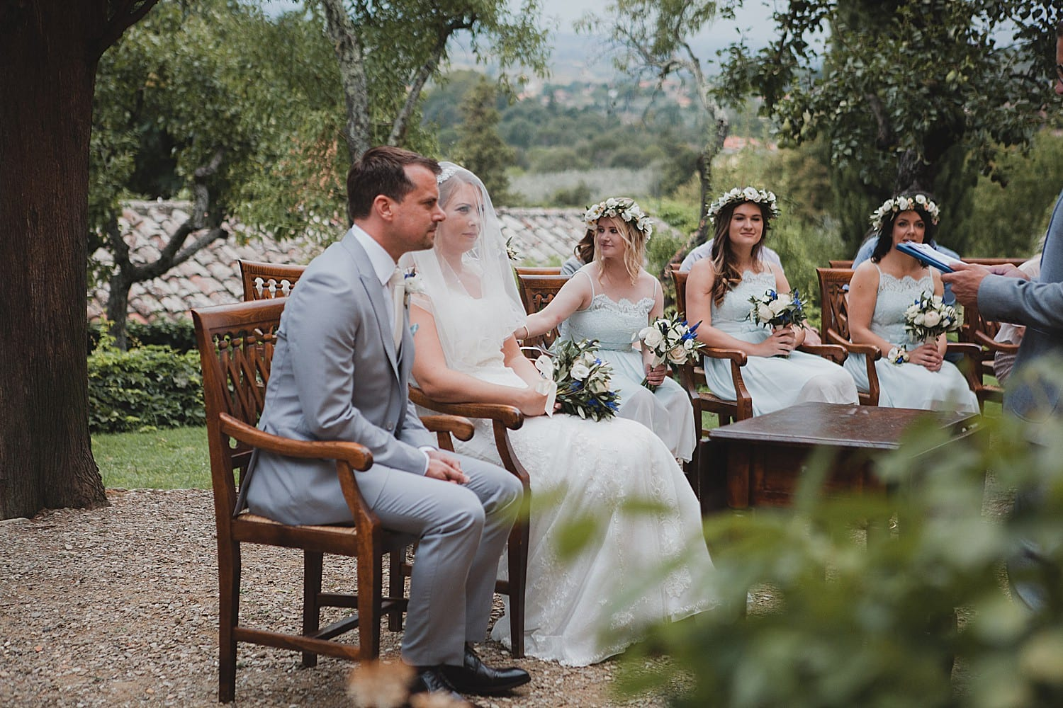 Wedding at Il Falconiere in Tuscany