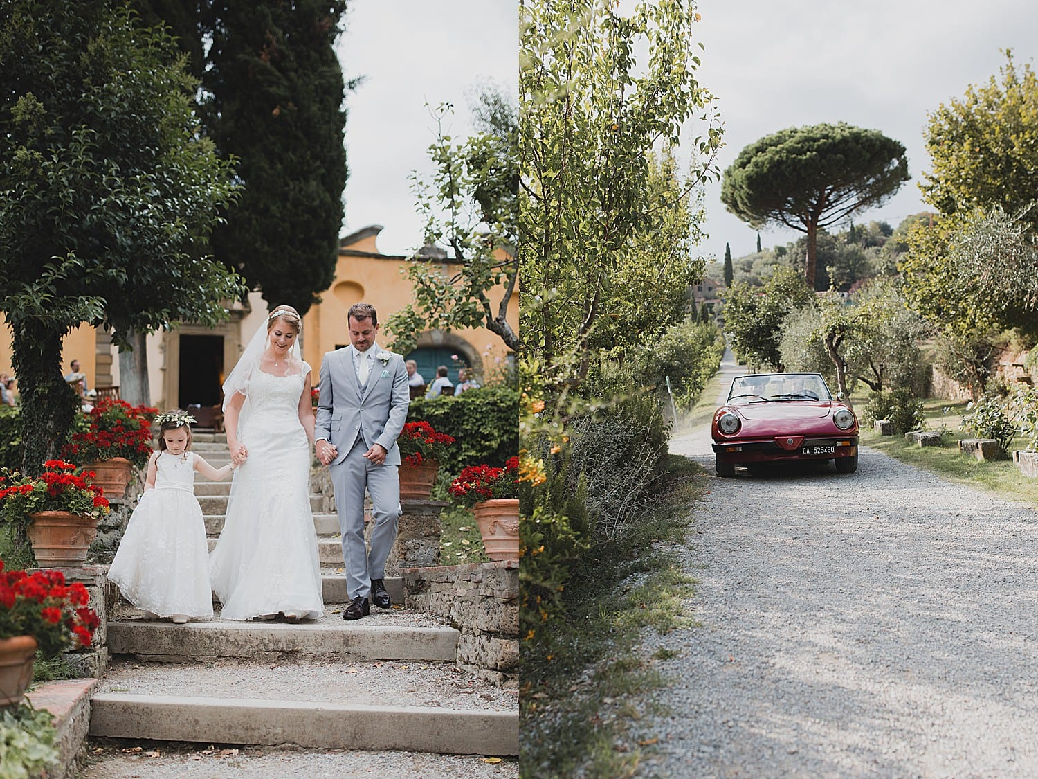 Il Falconiere wedding photography