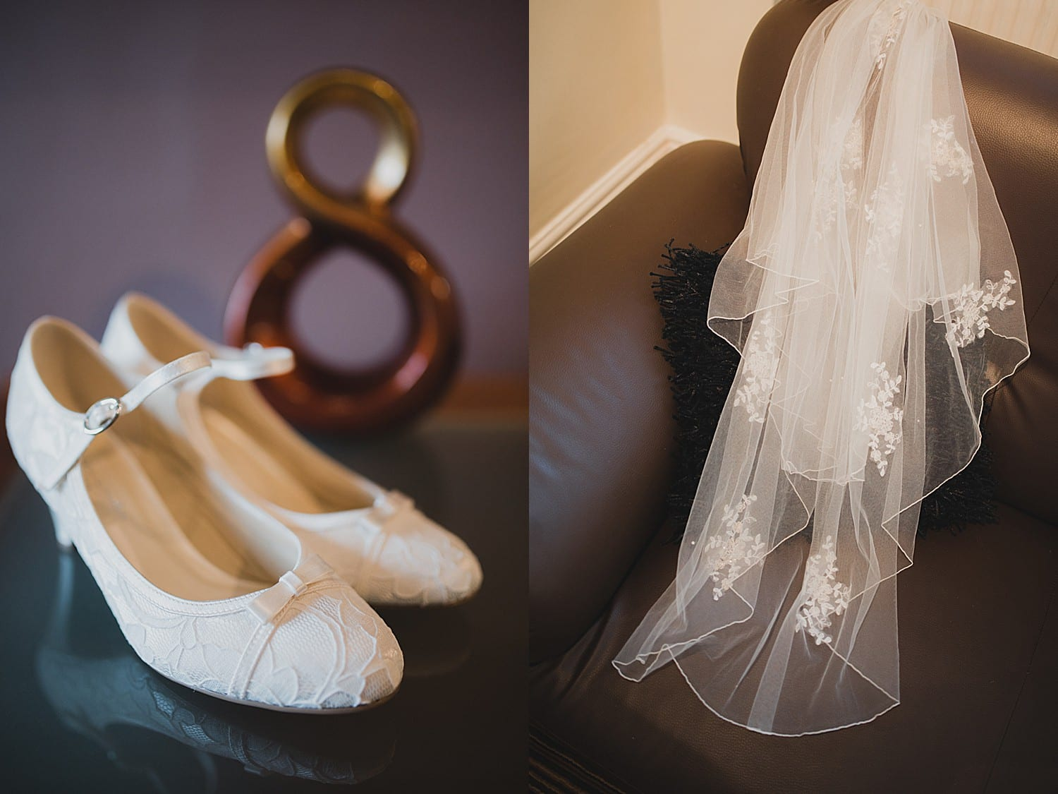 wedding details at cranage estate