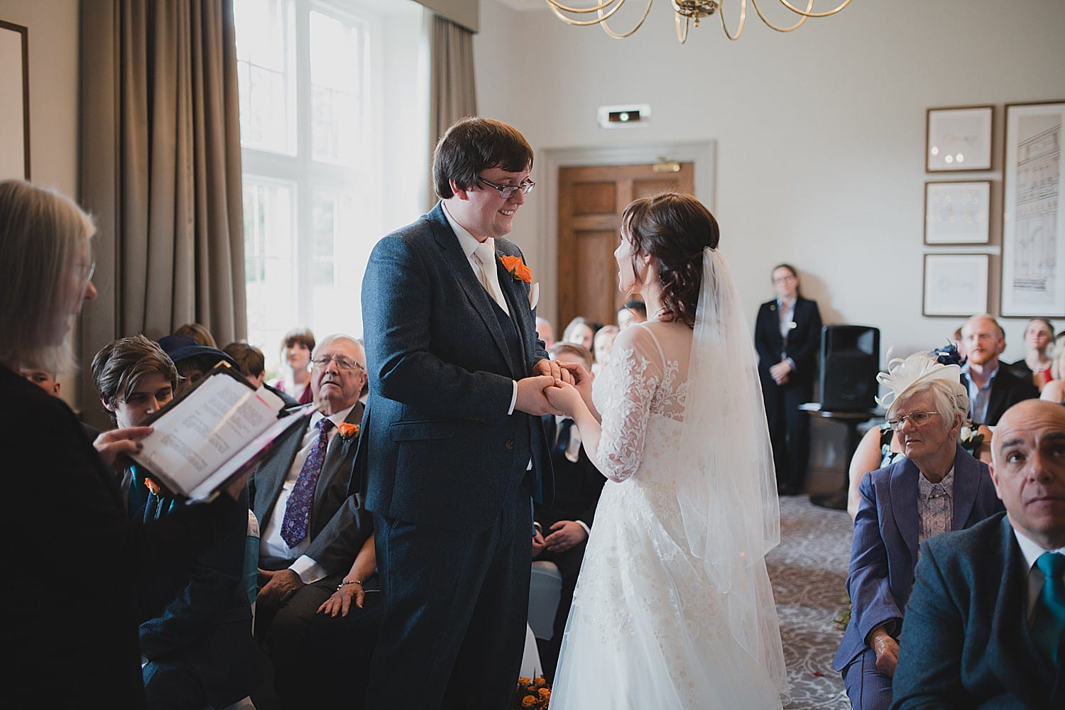 cranage estate wedding ceremony