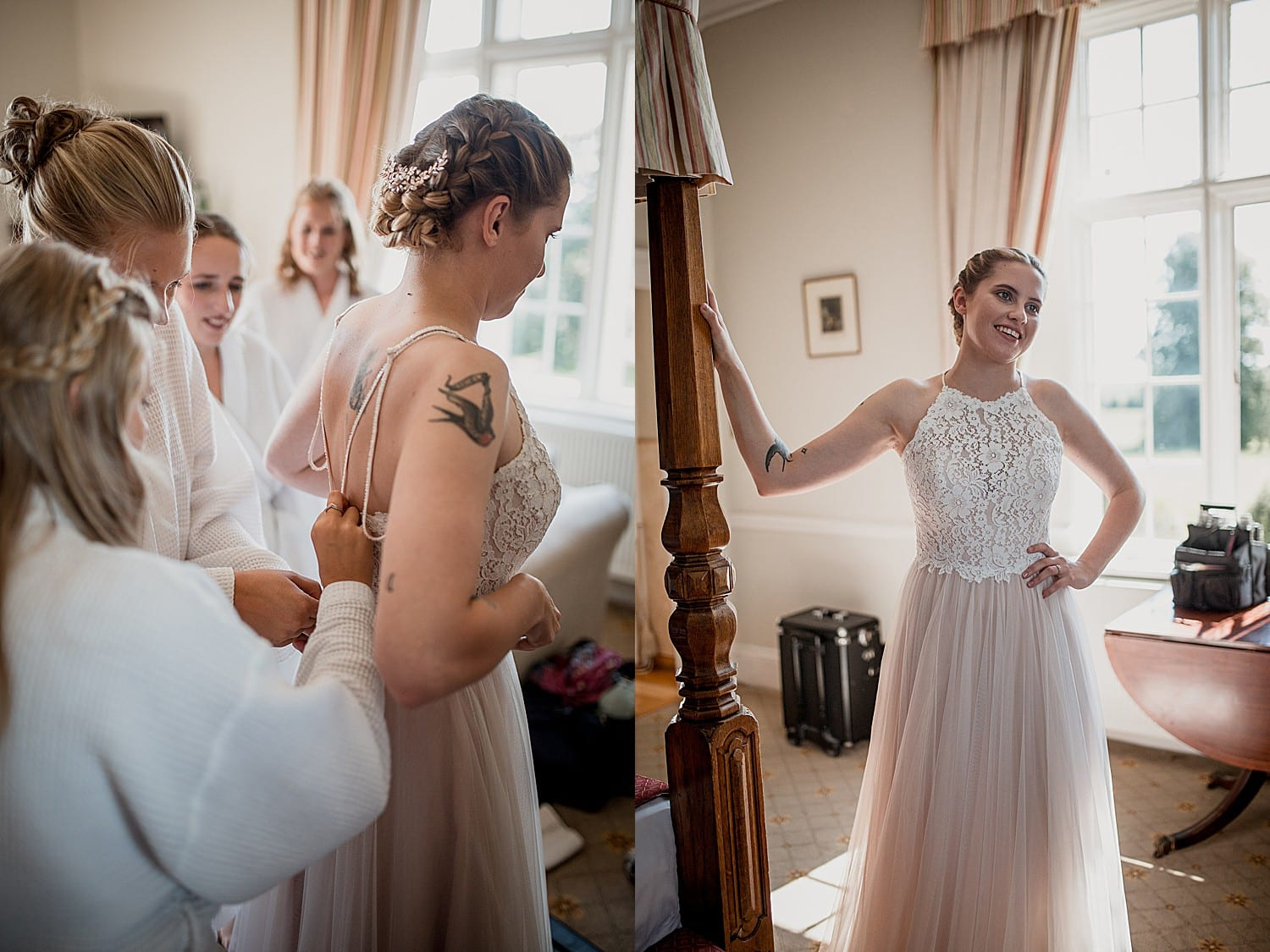 bridal prep willington hall