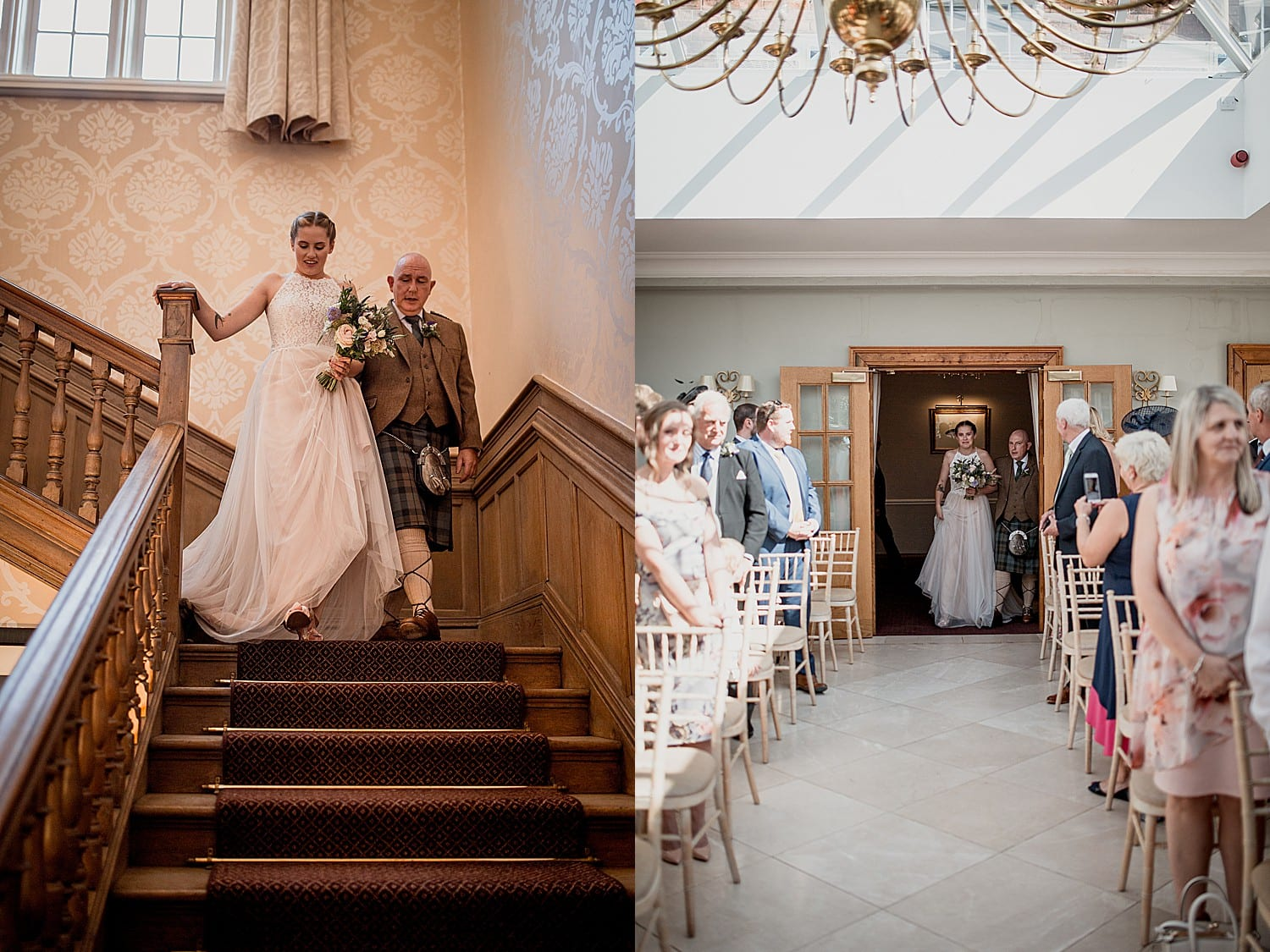 wedding at willington hall