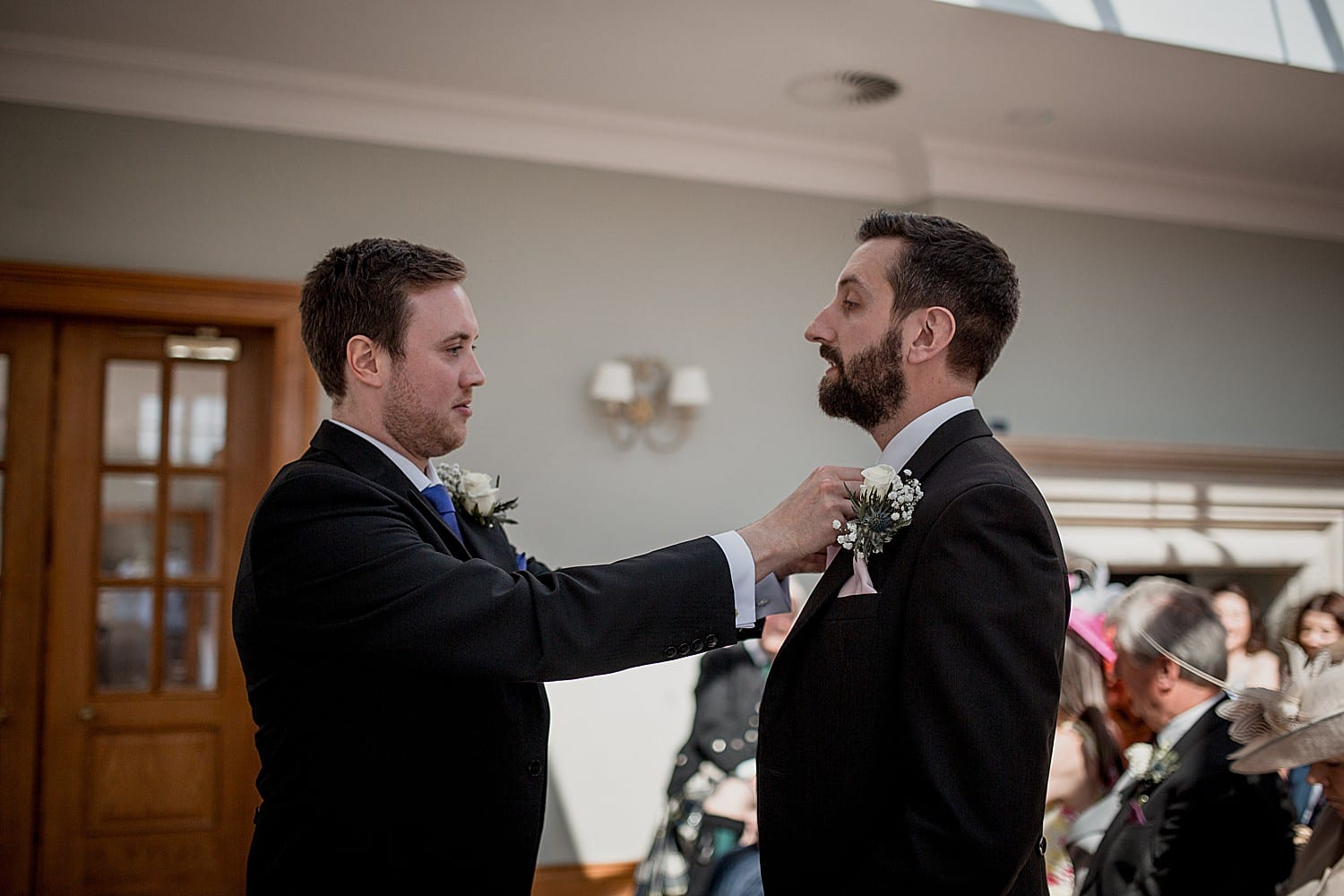 groom at willington hall