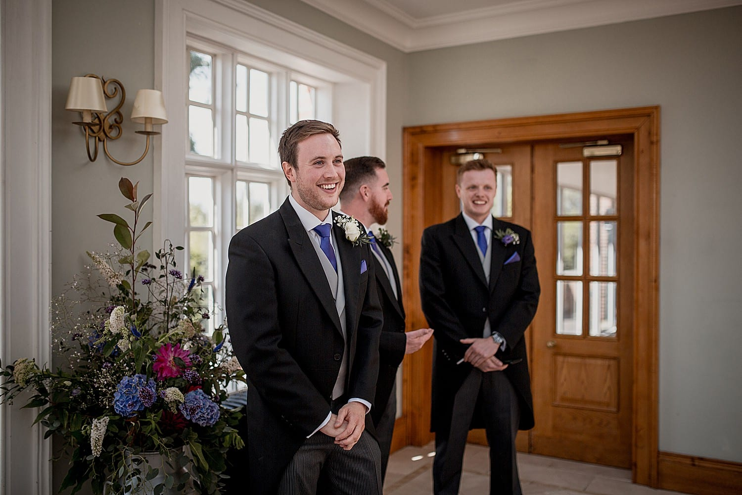 groomsmen at willington hall