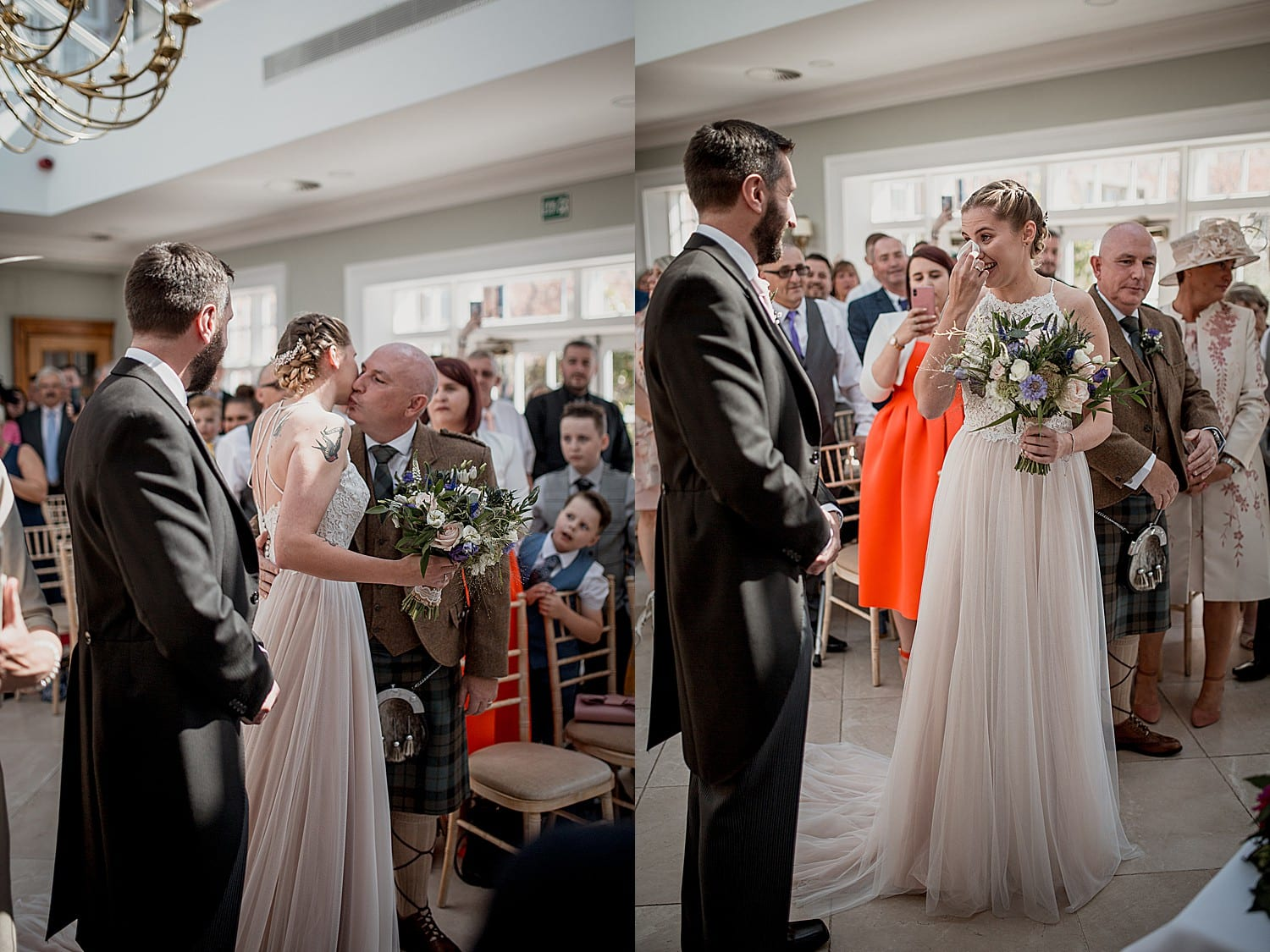civil ceremony at willington hall