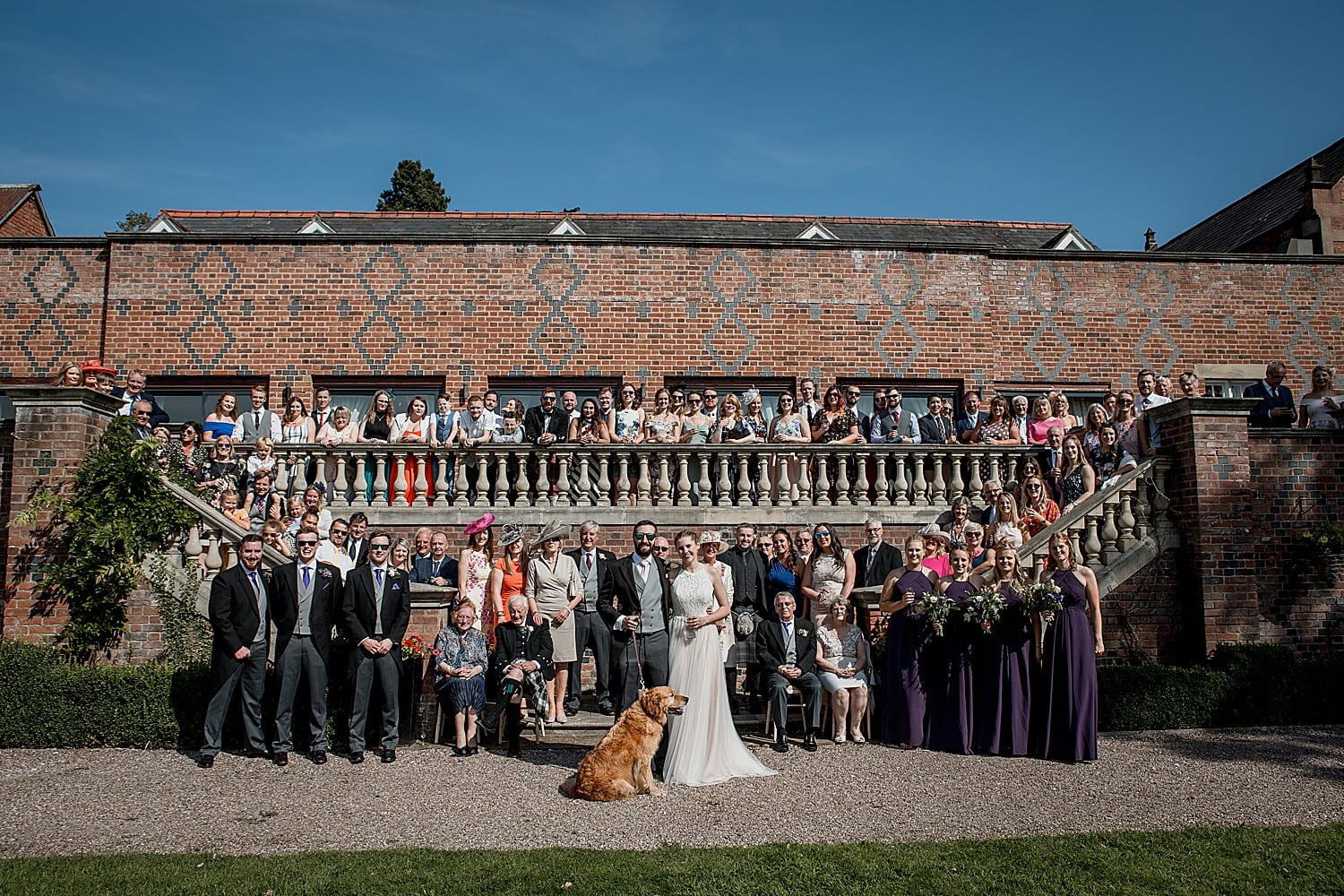 whole wedding at willington hall