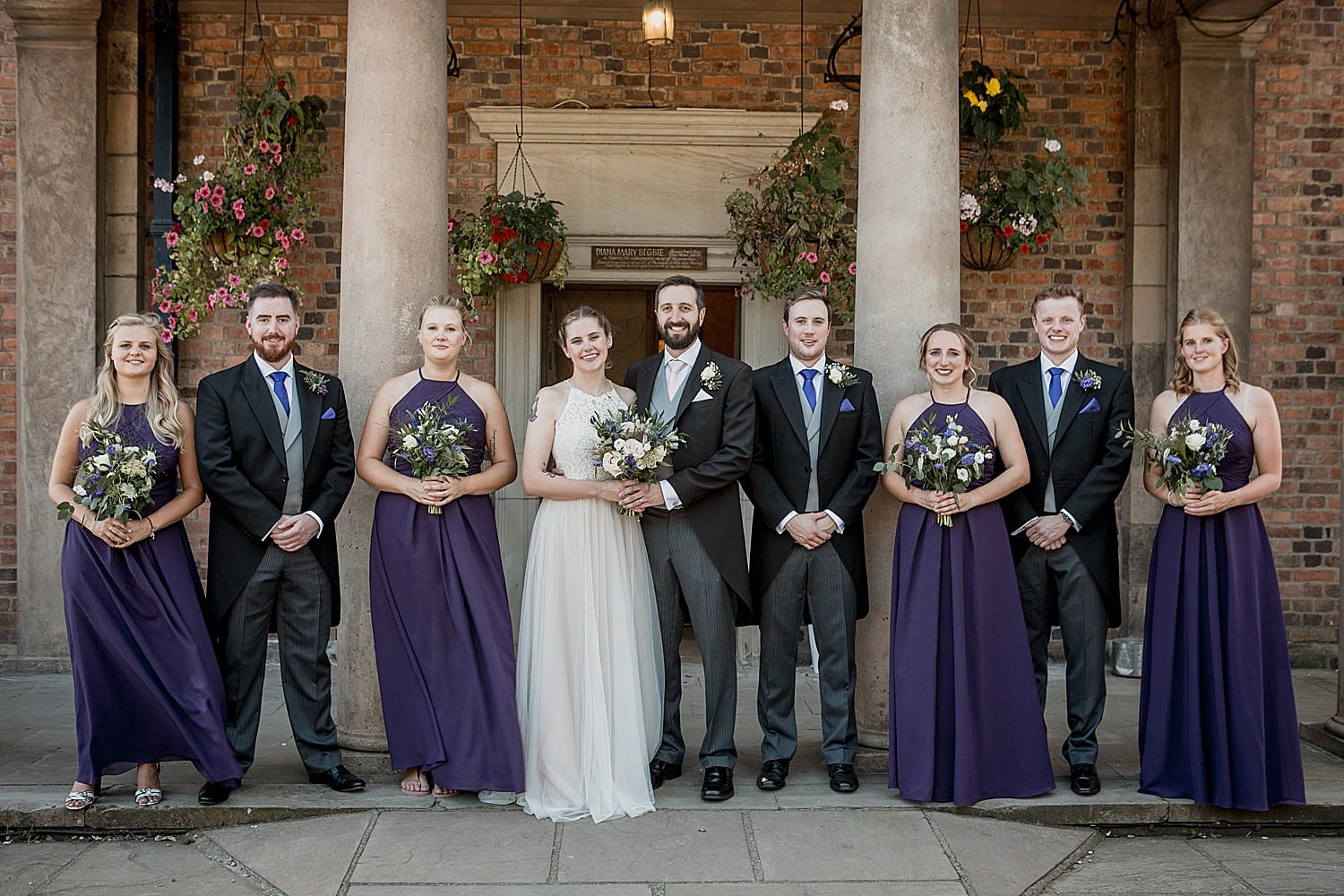 bridal party willington hall