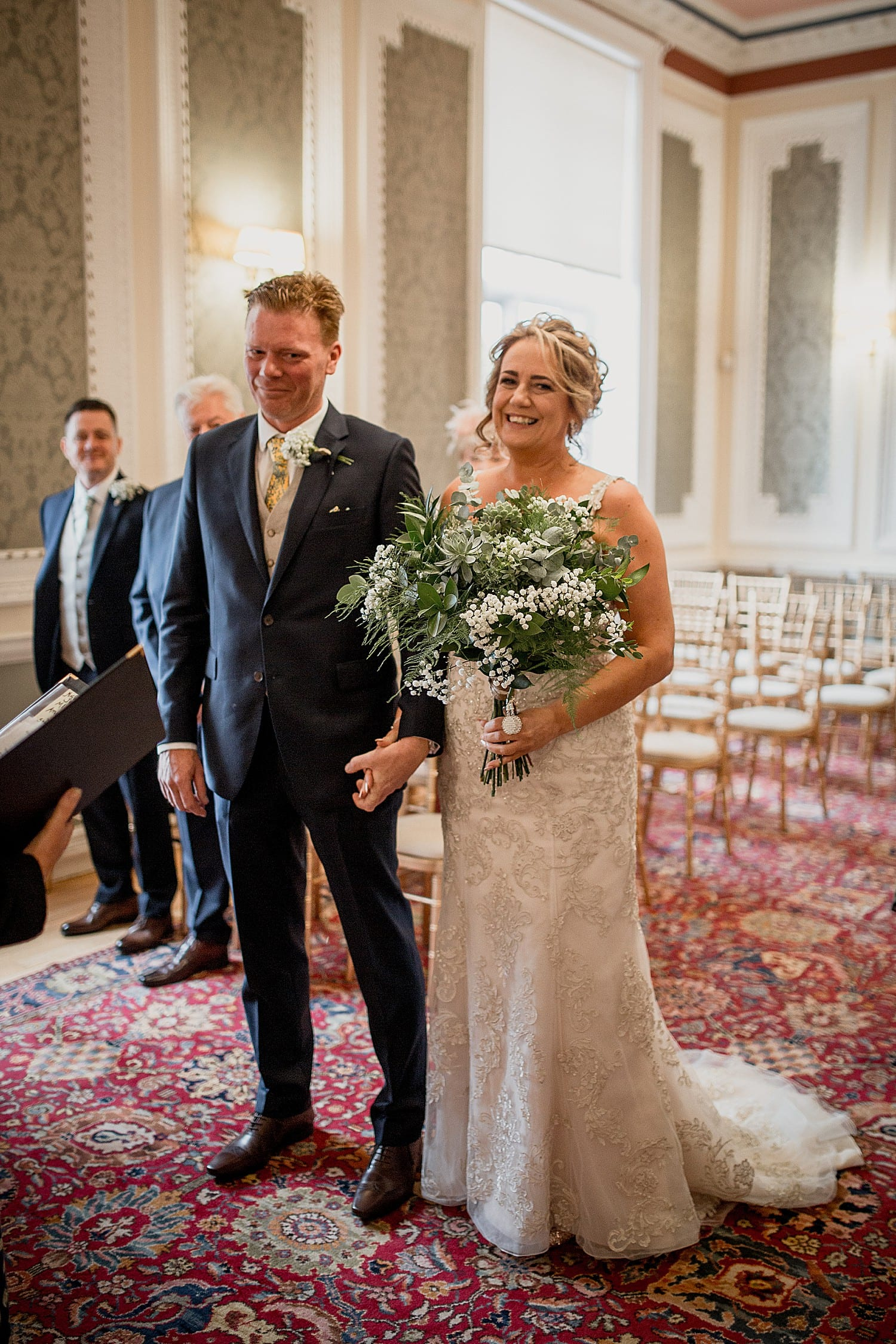 crewe town hall wedding photography