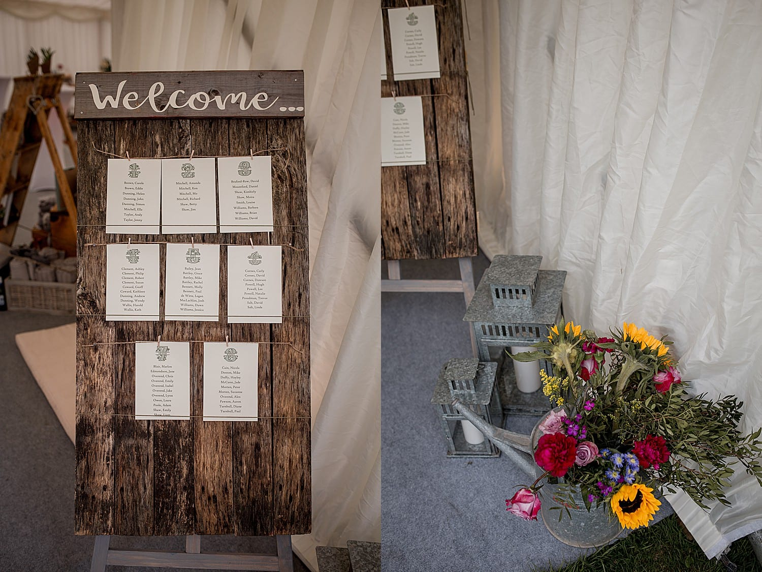 marquee wedding in cheshire