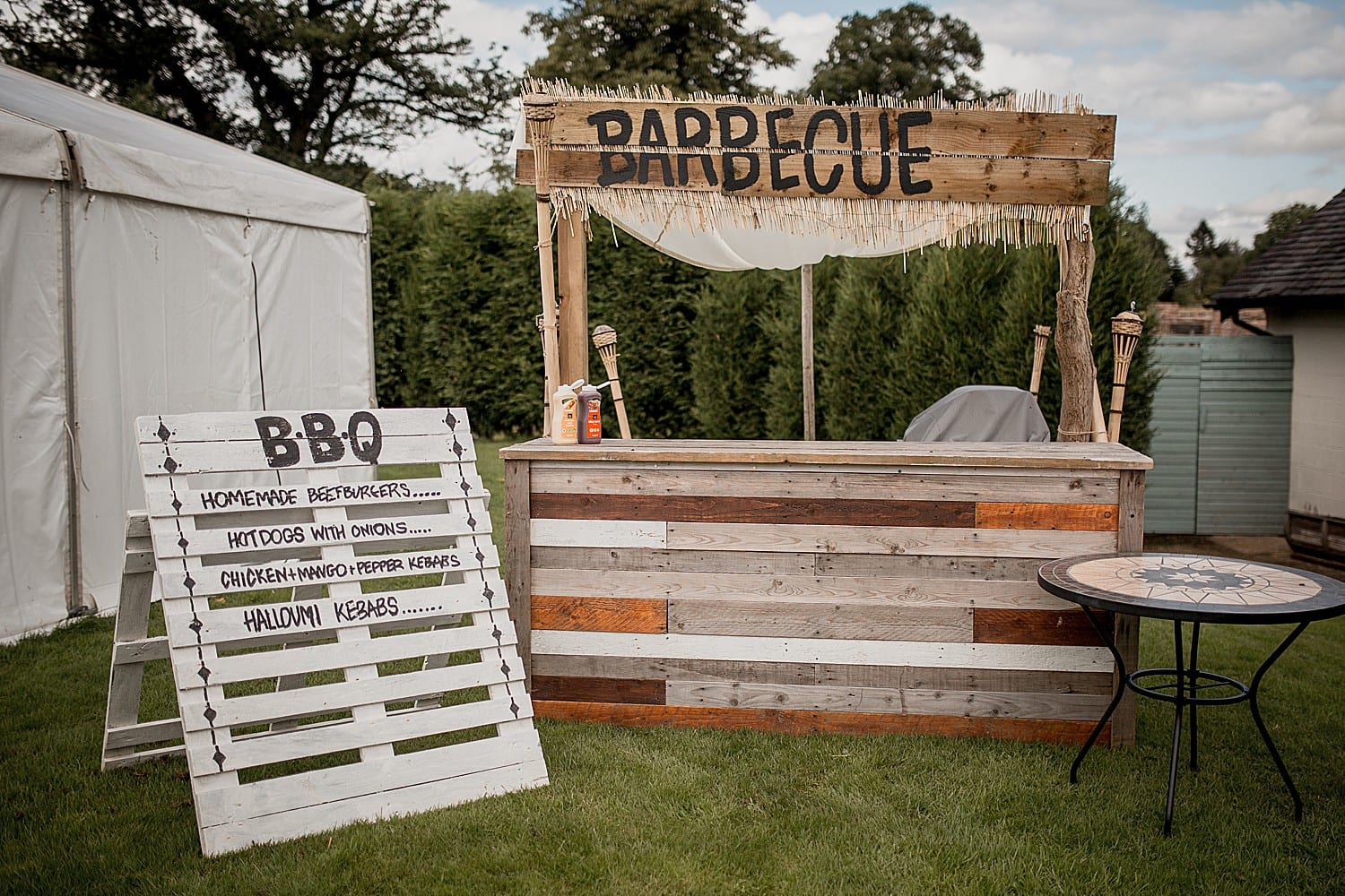 wedding barbeque
