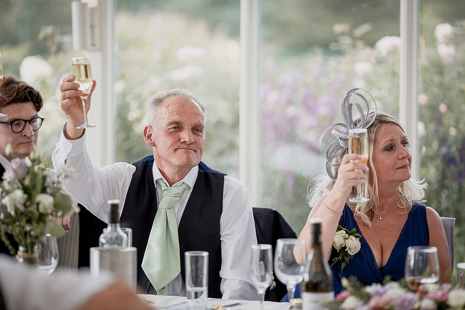 toasts at abbeywood estate wedding
