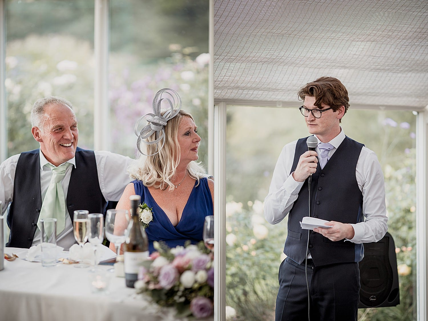 speeches at an abbeywood estate wedding