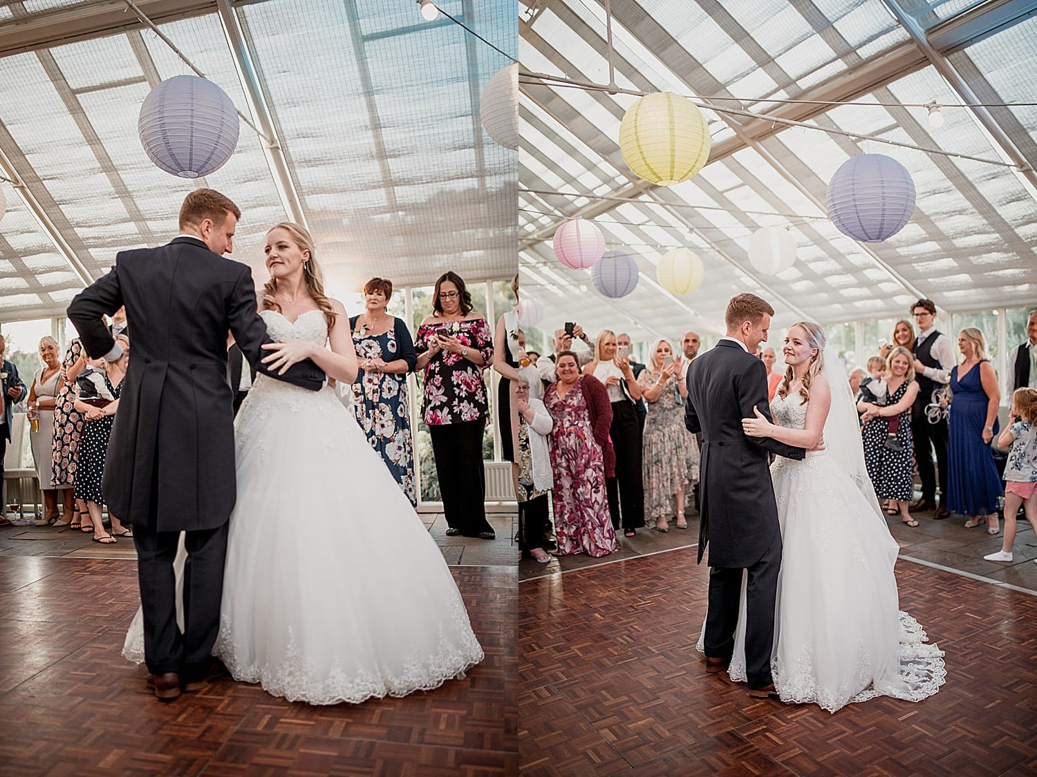 first dance at abbeywood estate wedding